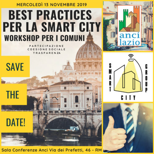 BEST PRACTICES PER LA SMART CITY - SAVE THE DATE!