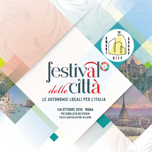 SMART CITY GROUP AL FESTIVAL DELLE CITTA